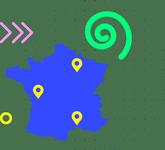 GCollect partout en France